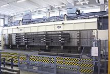 1 Centro di lavoro CNC in linea FMS composto da 1 macchina Jet Five Tamburo